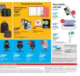 Staples - deals are valid from 08/16/20 to 08/22/20 - page 8.