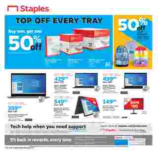 Staples - deals are valid from 07/26/20 to 08/01/20 - page 8.