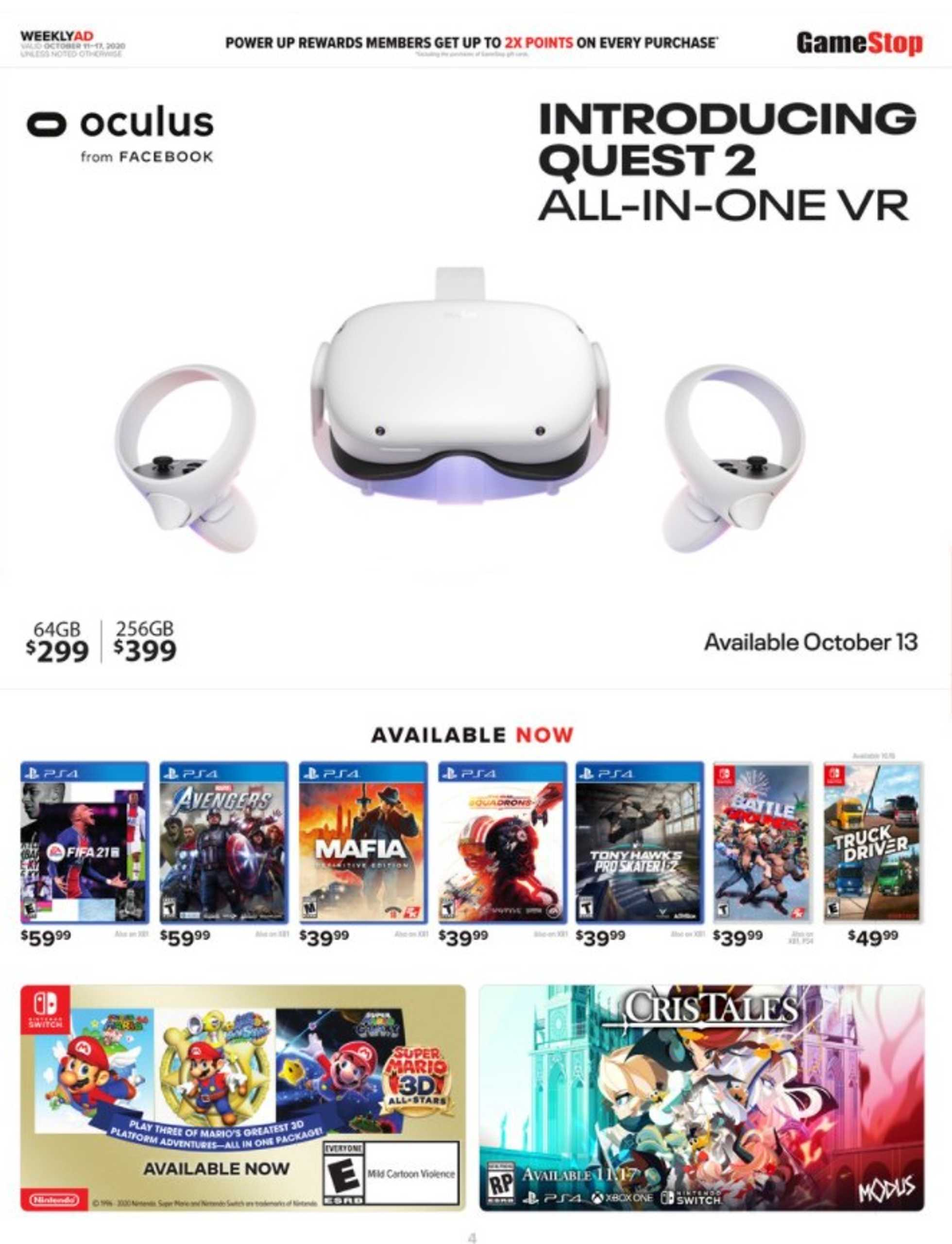 GameStop - deals are valid from 10/11/20 to 10/17/20 - page 3.