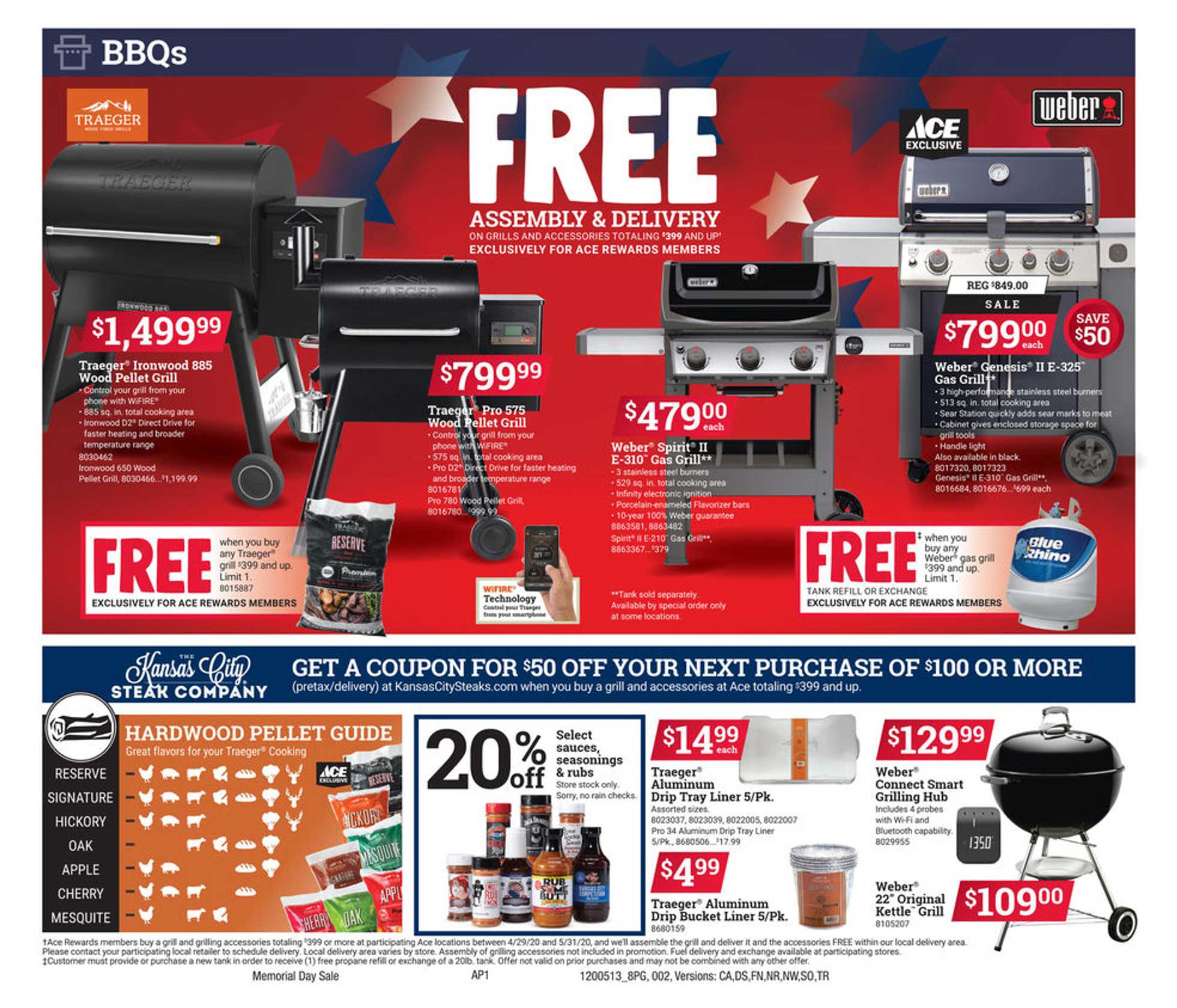 ACE Hardware - deals are valid from 05/13/20 to 05/25/20 - page 2.