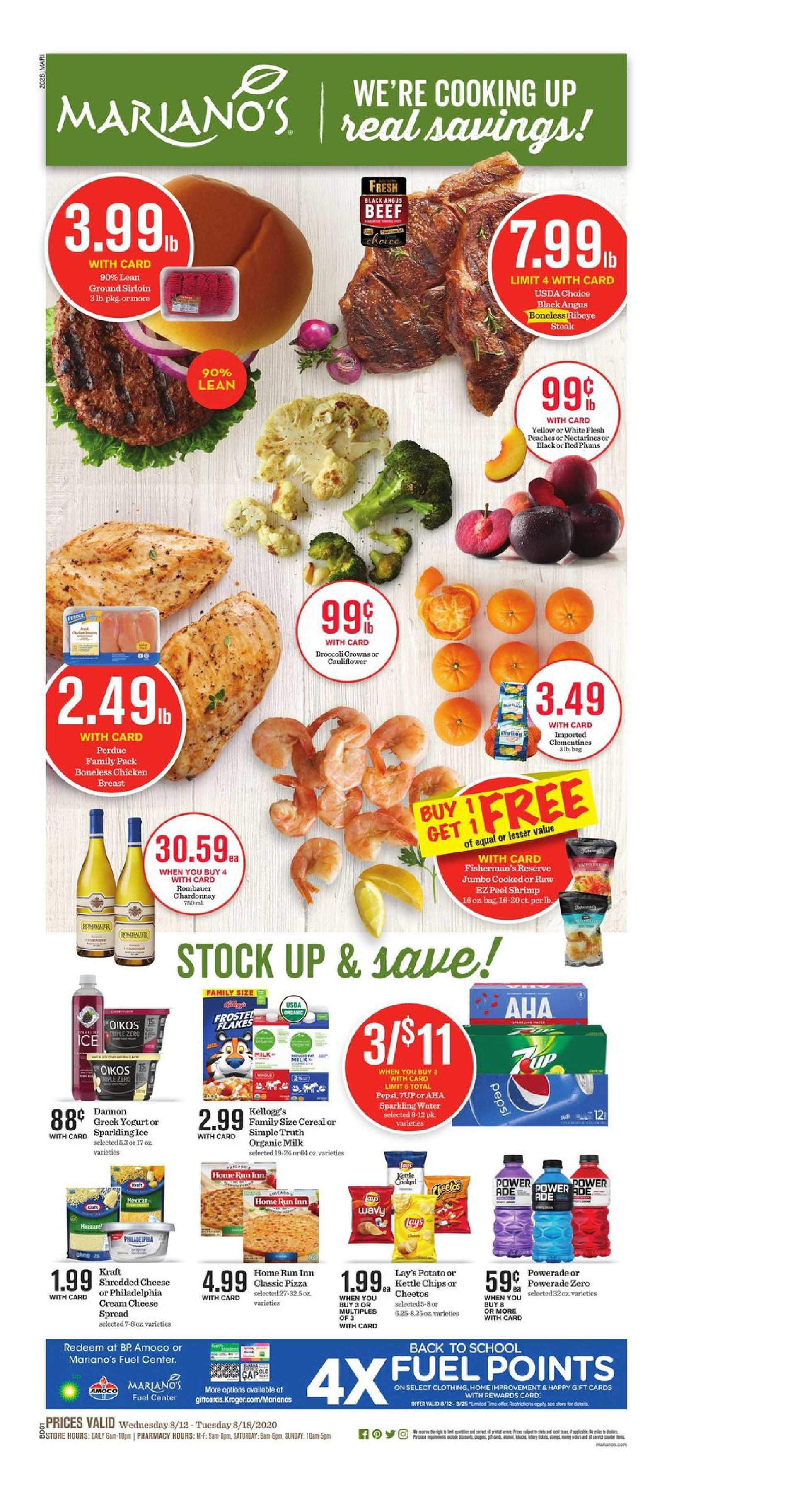 Foods Co. - deals are valid from 08/12/20 to 08/18/20 - page 1.