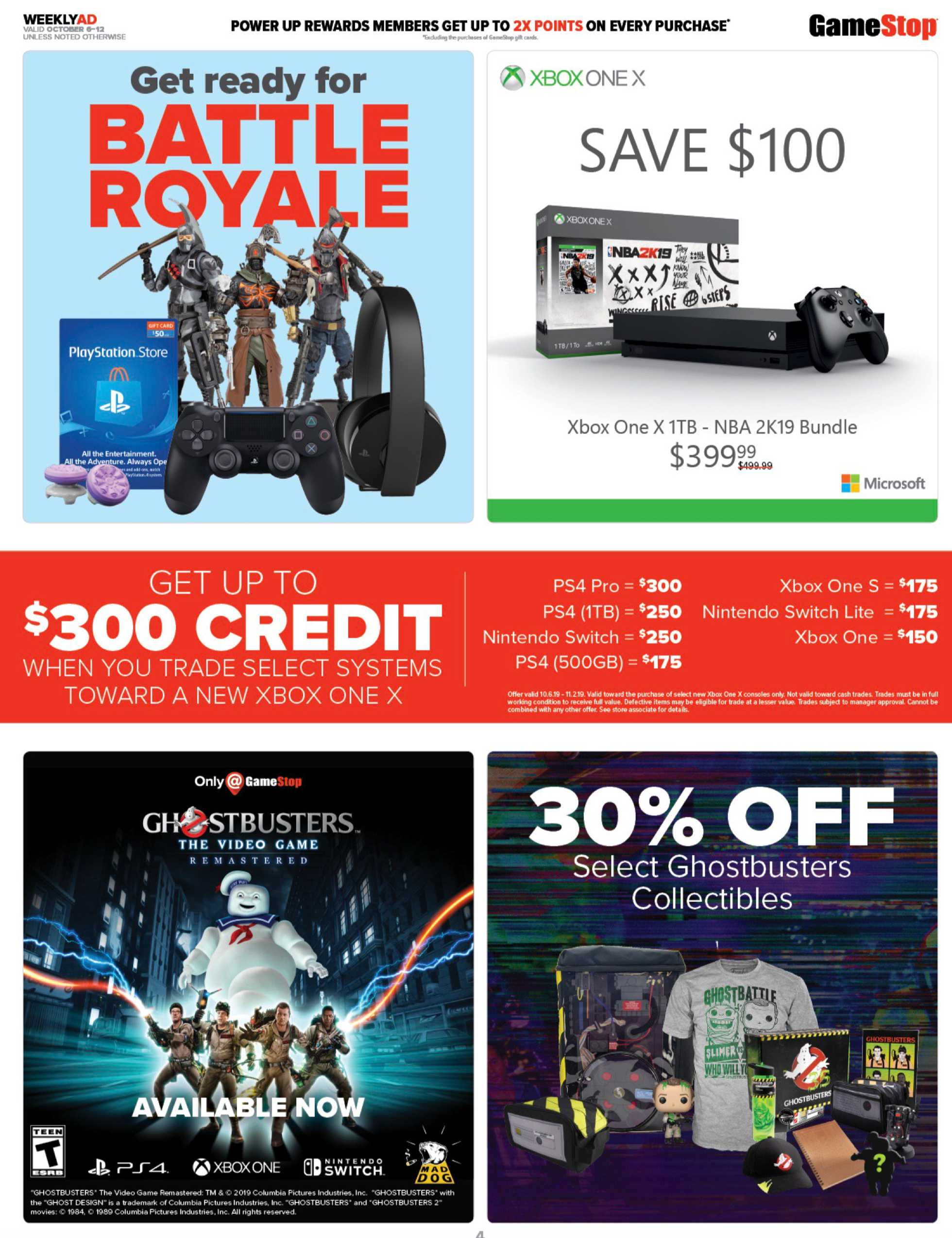 GameStop - deals are valid from 10/06/19 to 10/12/19 - page 4.