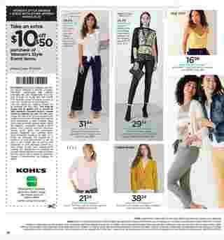 Kohl's - deals are valid from 03/13/20 to 03/22/20 - page 10.