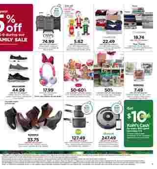 Kohl's - deals are valid from 12/05/19 to 12/09/19 - page 7.