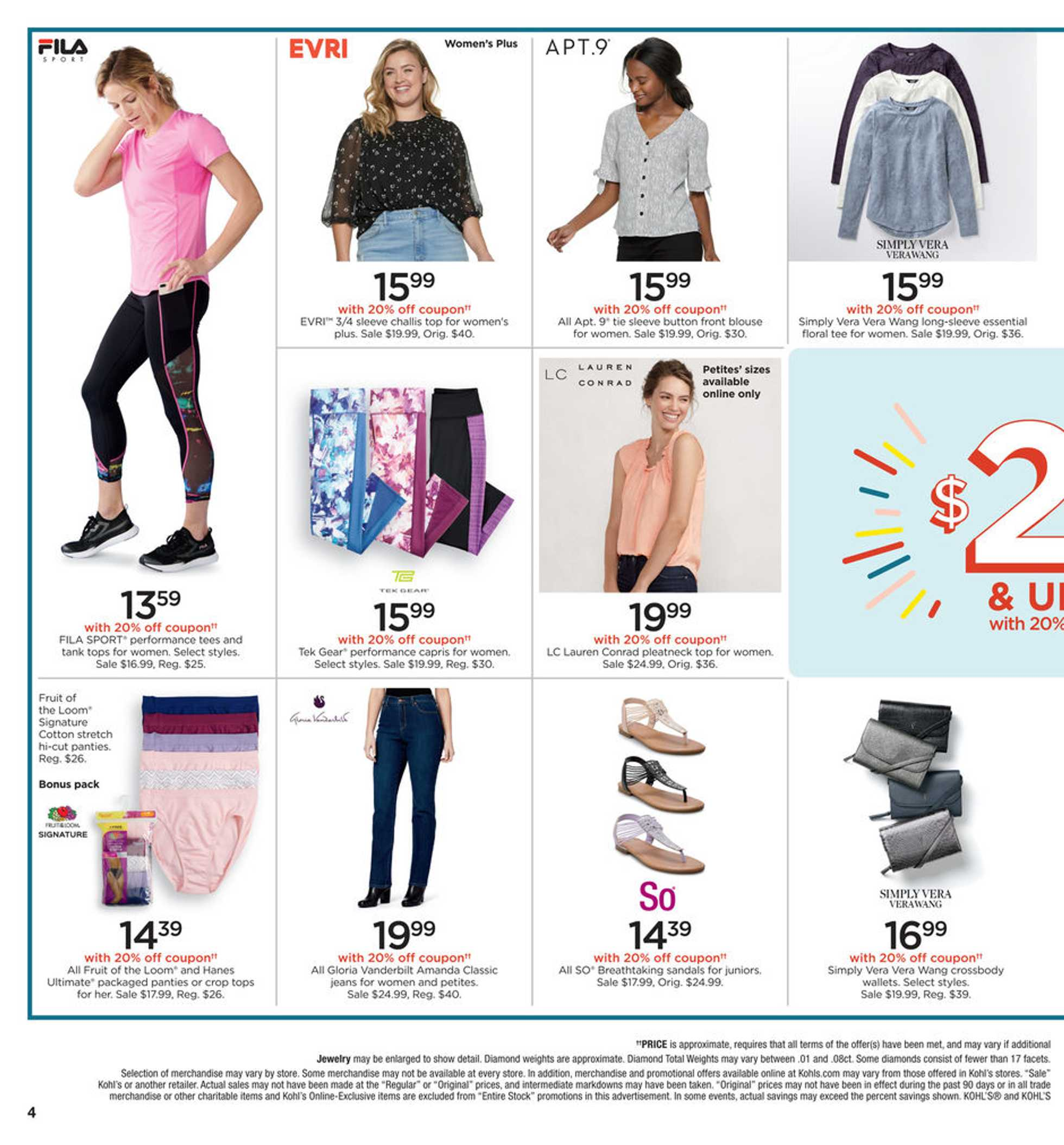 Kohl's - deals are valid from 02/20/20 to 02/23/20 - page 4.