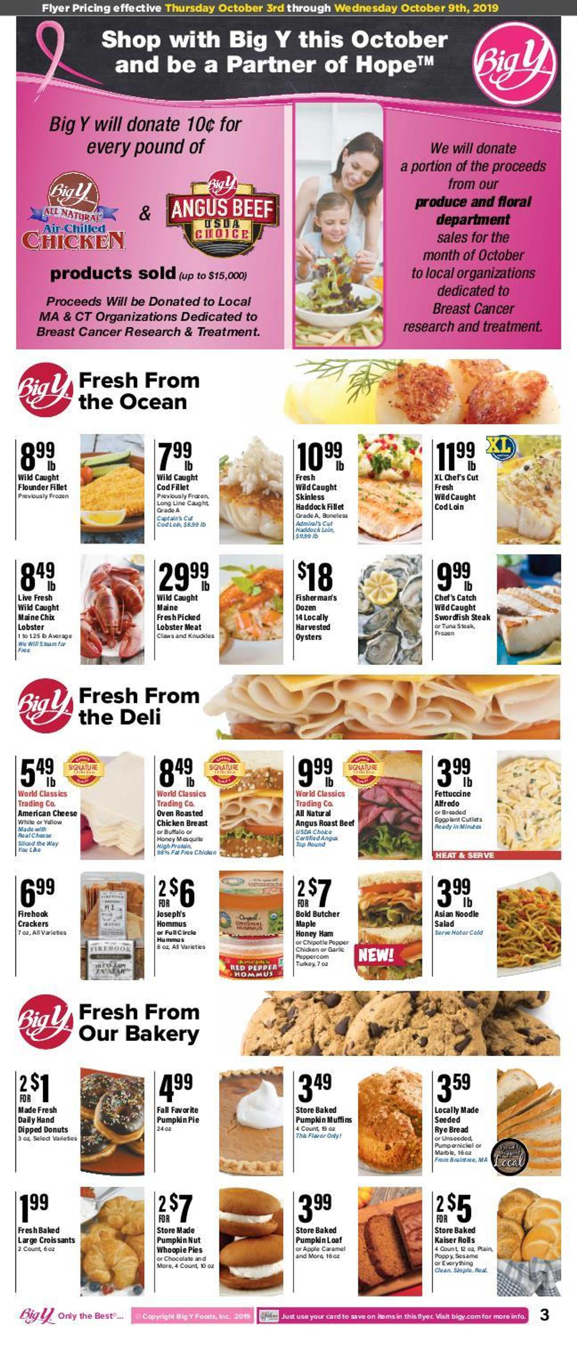 Big Y - deals are valid from 10/03/19 to 10/09/19 - page 4.