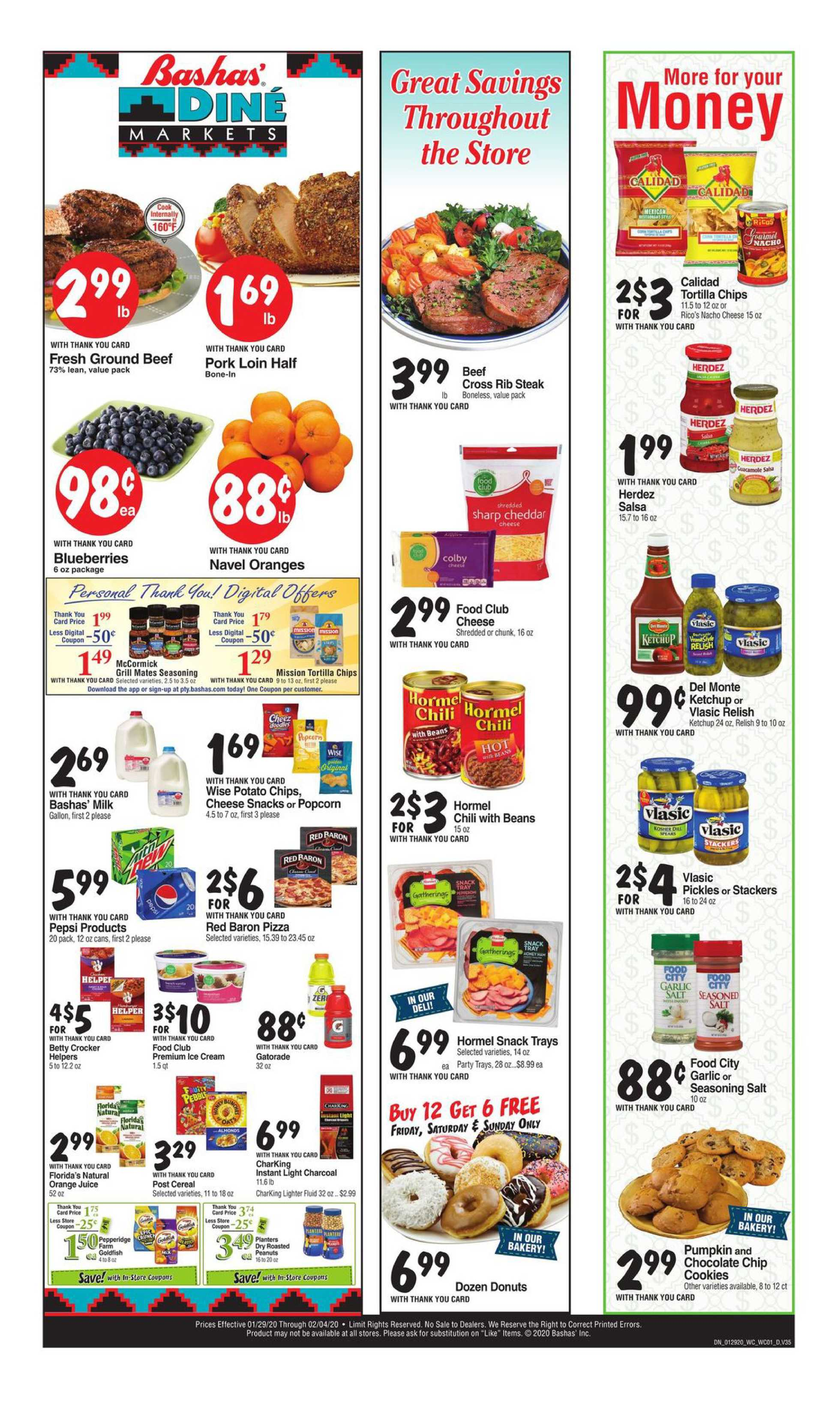 Bashas - deals are valid from 01/29/20 to 02/04/20 - page 2.