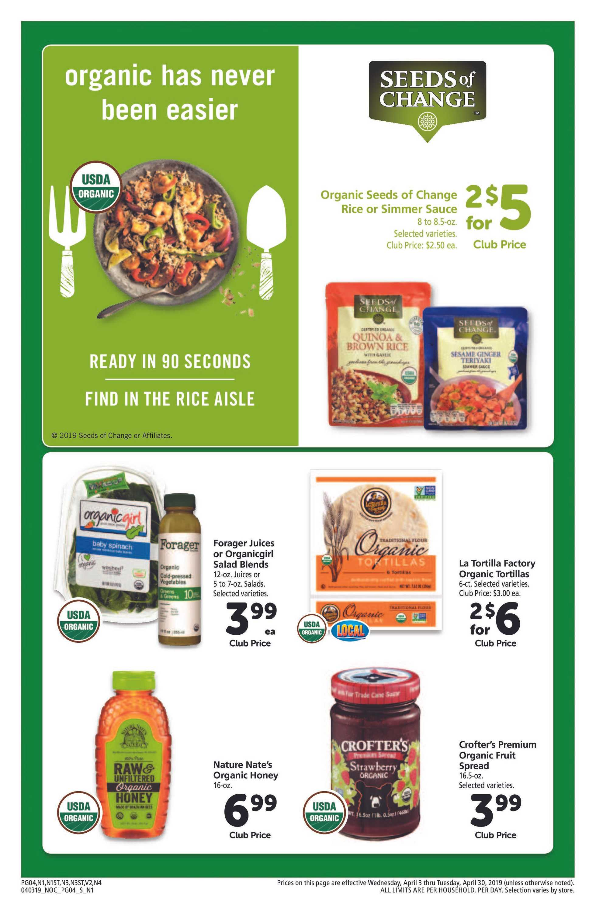 Safeway - deals are valid from 04/03/19 to 04/30/19 - page 4.