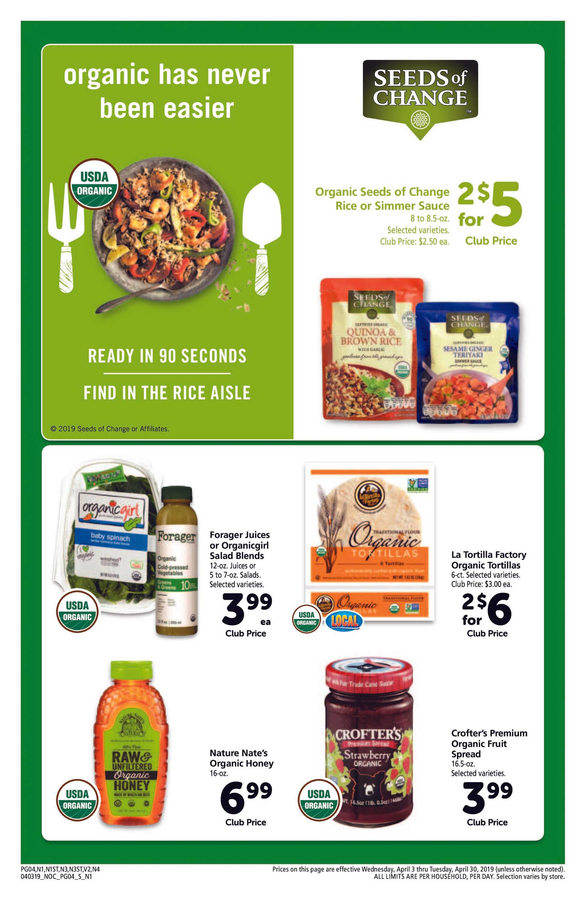Safeway - promo starting from 04/03/19 to 04/30/19 - page 4.