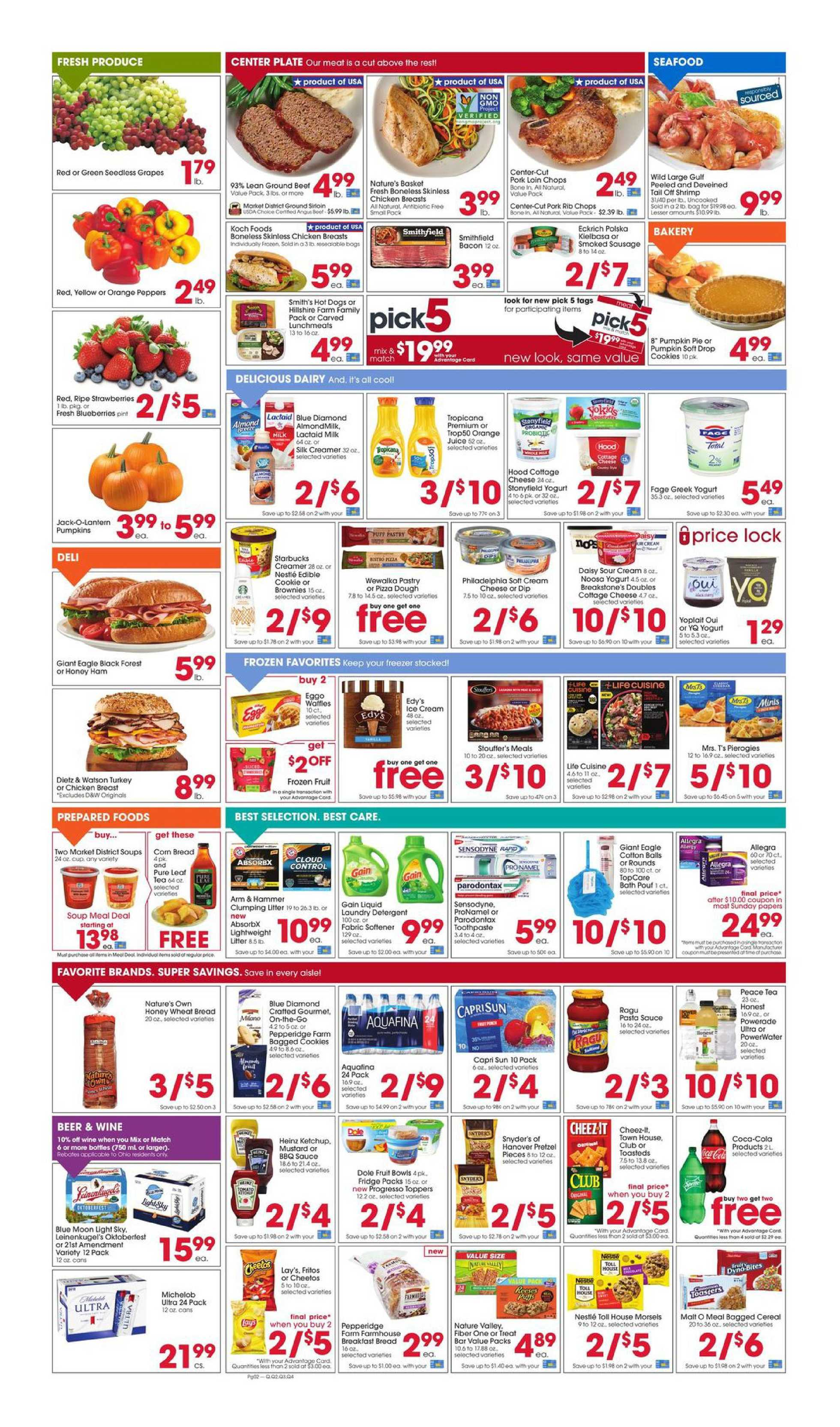 Giant Eagle - deals are valid from 09/24/20 to 09/30/20 - page 2.