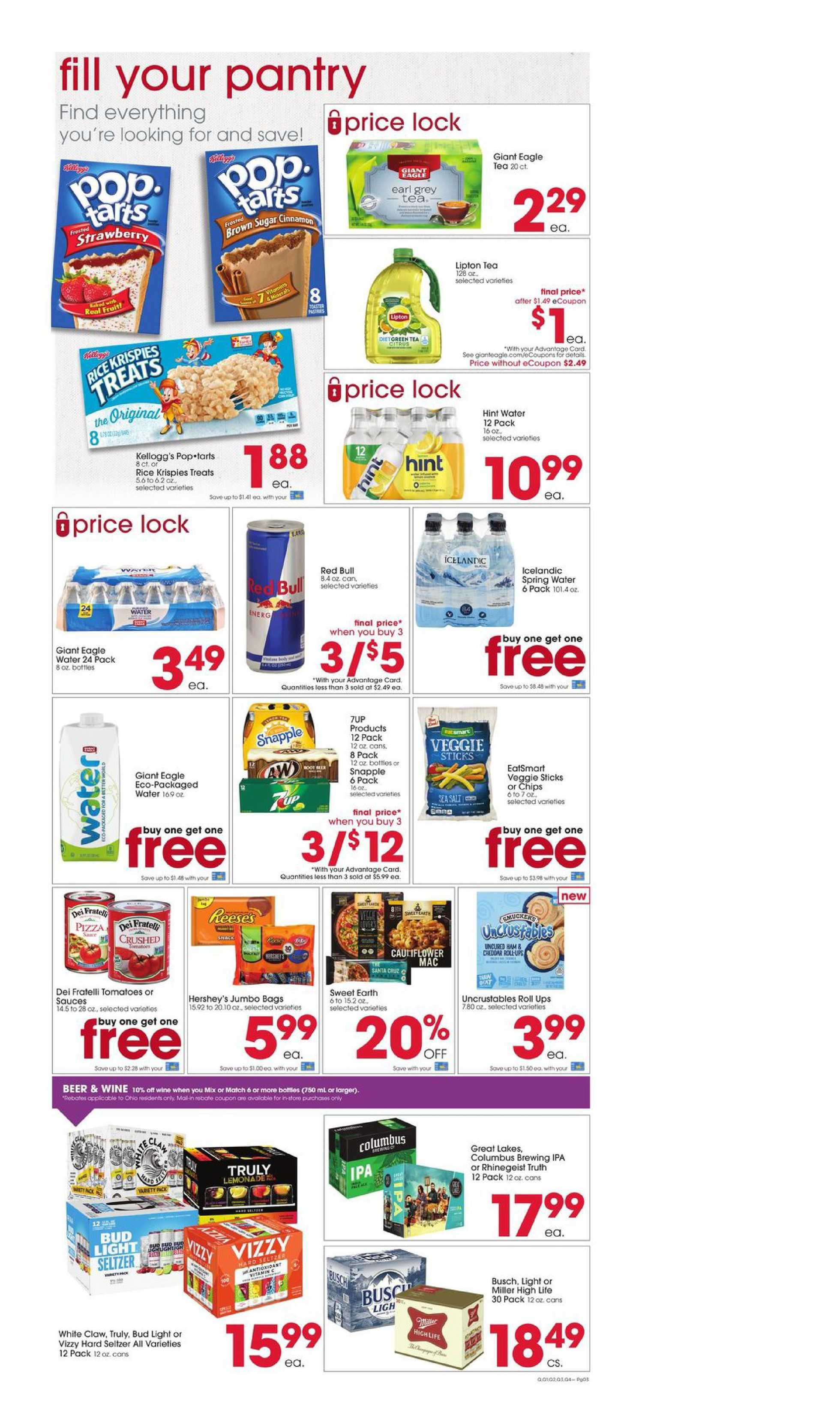 Giant Eagle - deals are valid from 09/24/20 to 09/30/20 - page 3.
