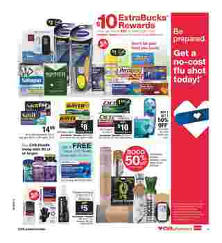 CVS - deals are valid from 10/06/19 to 10/12/19 - page 15.