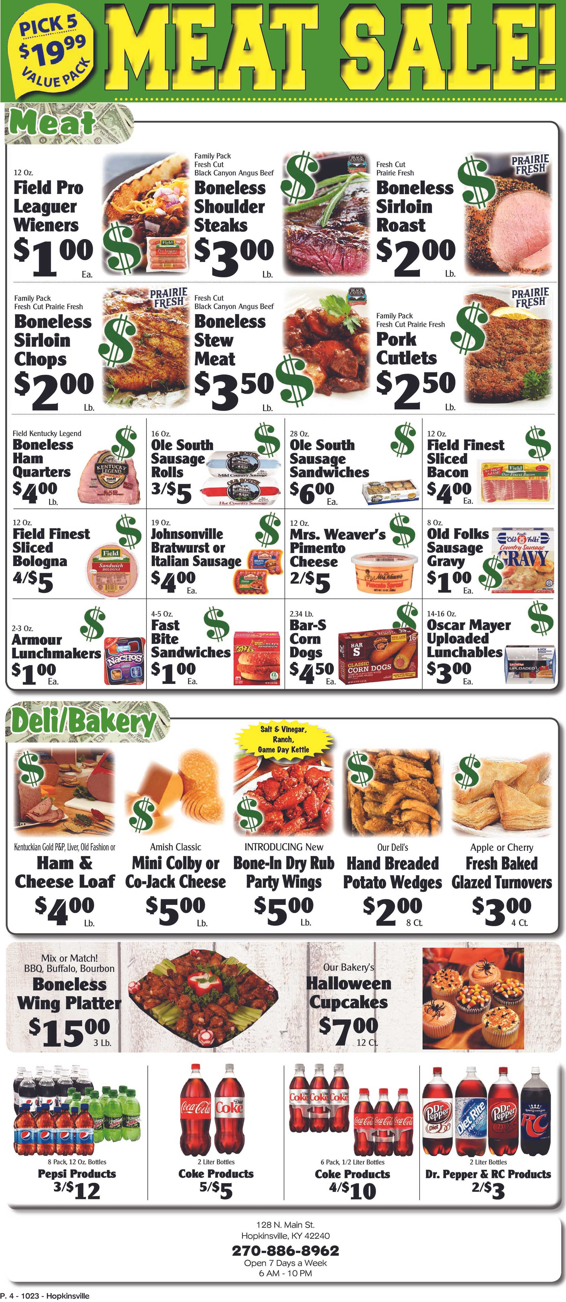 Piggly Wiggly - deals are valid from 10/23/19 to 10/29/19 - page 4.