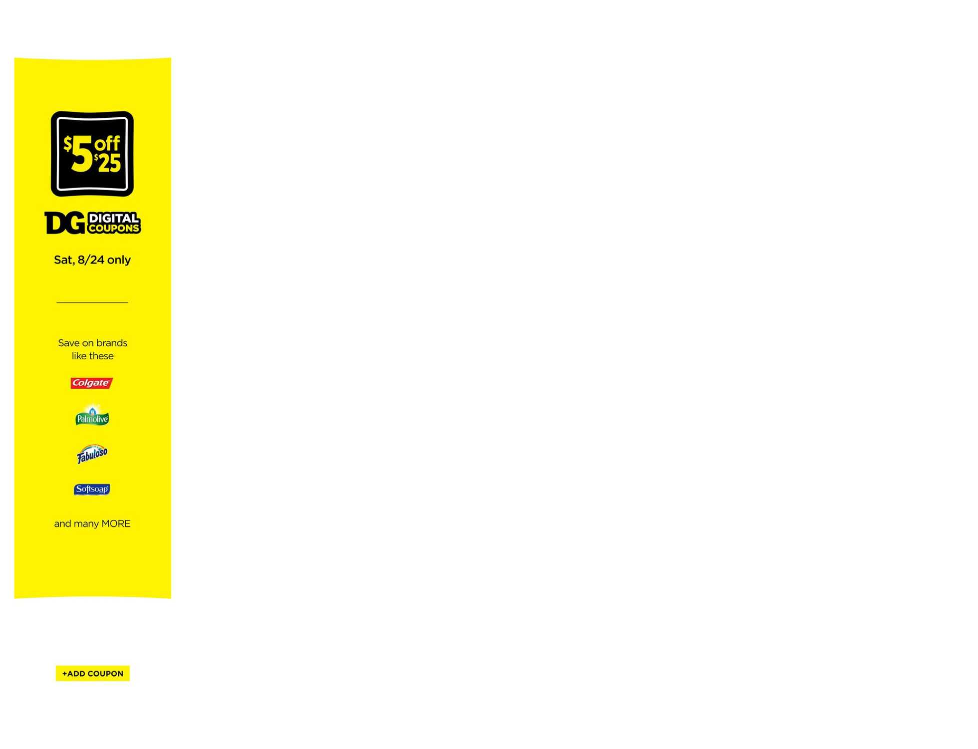 Dollar General - promo starting from 08/18/19 to 08/24/19 - page 2.