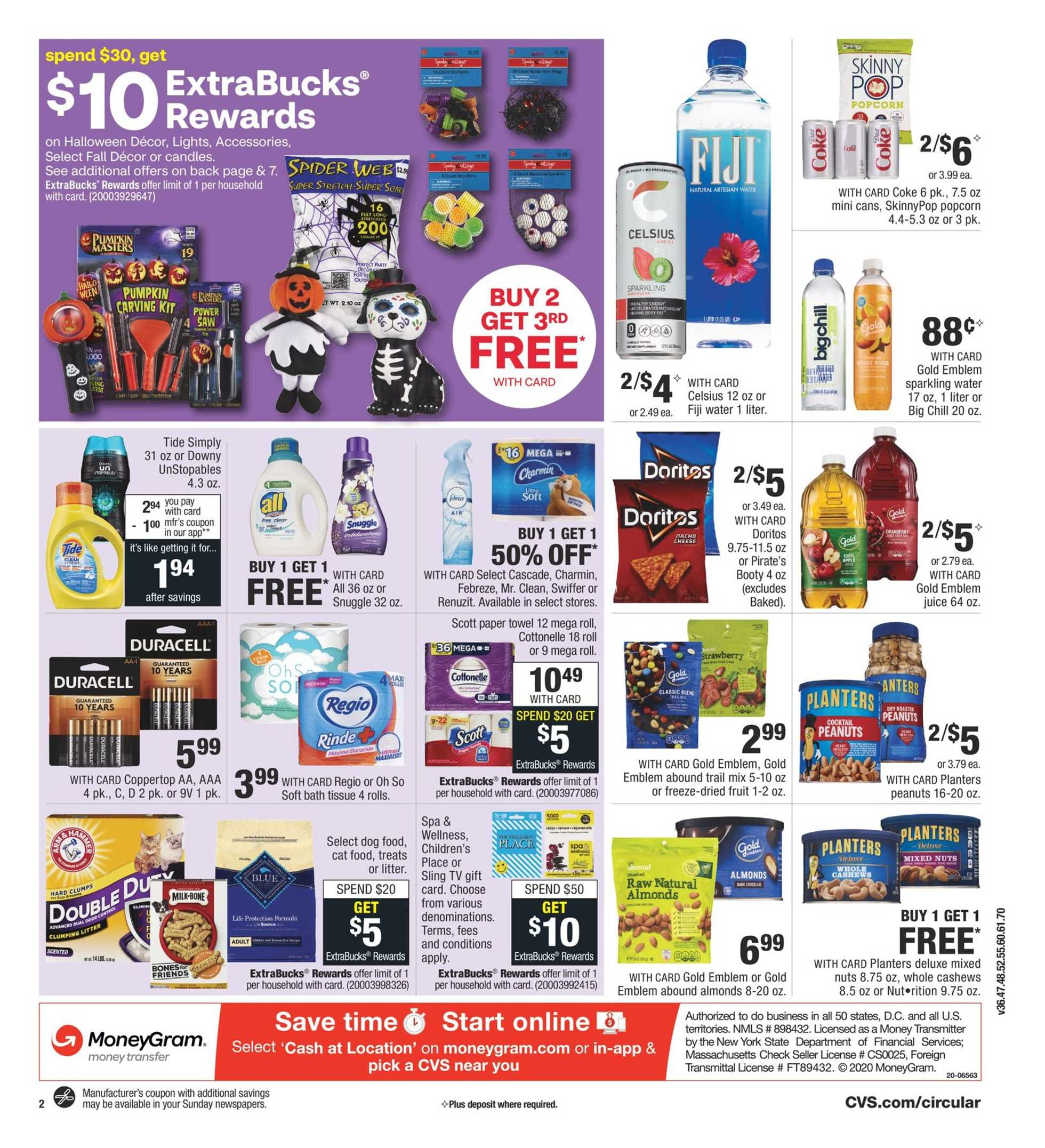 CVS - deals are valid from 09/20/20 to 09/26/20 - page 3.