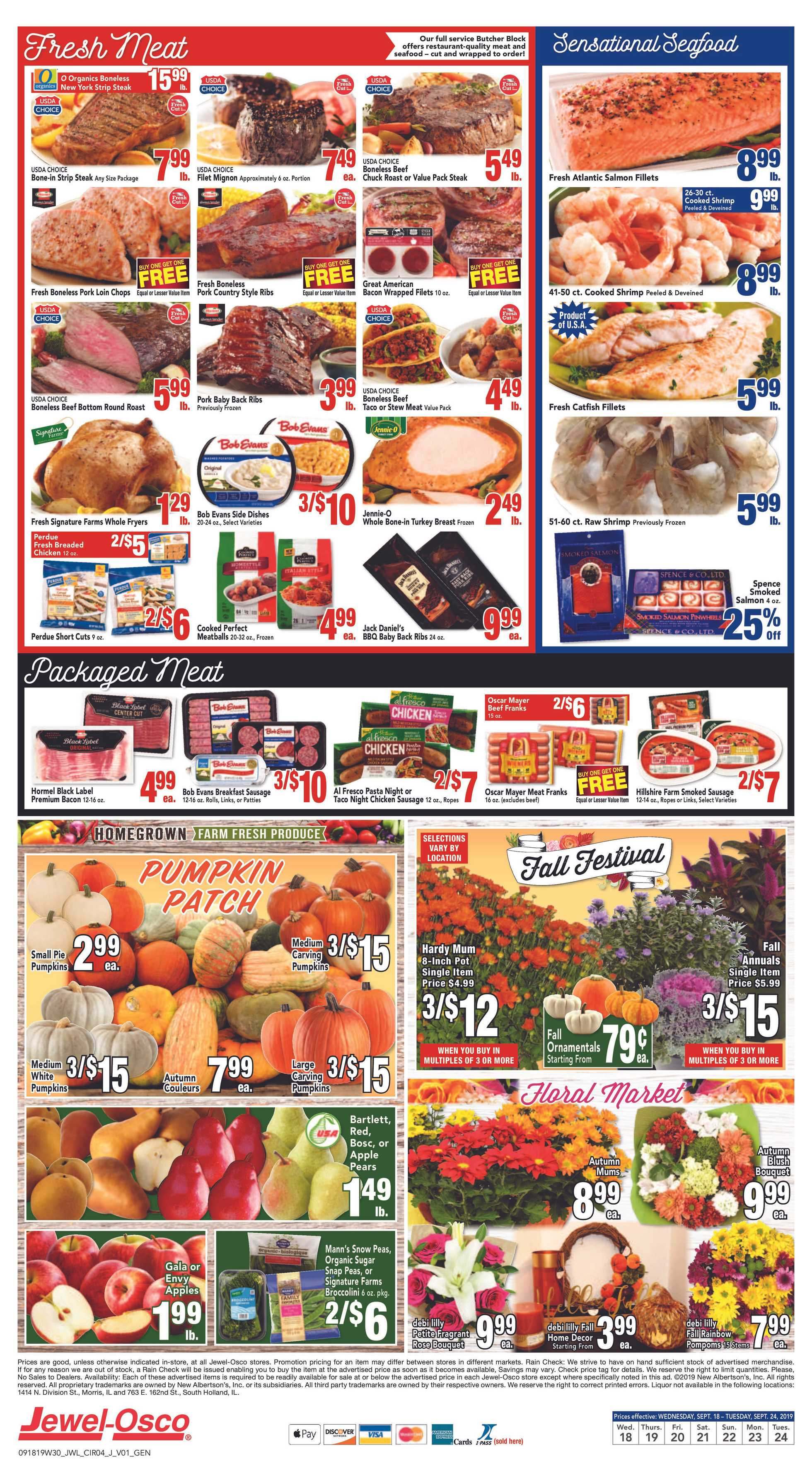 Jewel Osco - deals are valid from 09/18/19 to 09/24/19 - page 4.