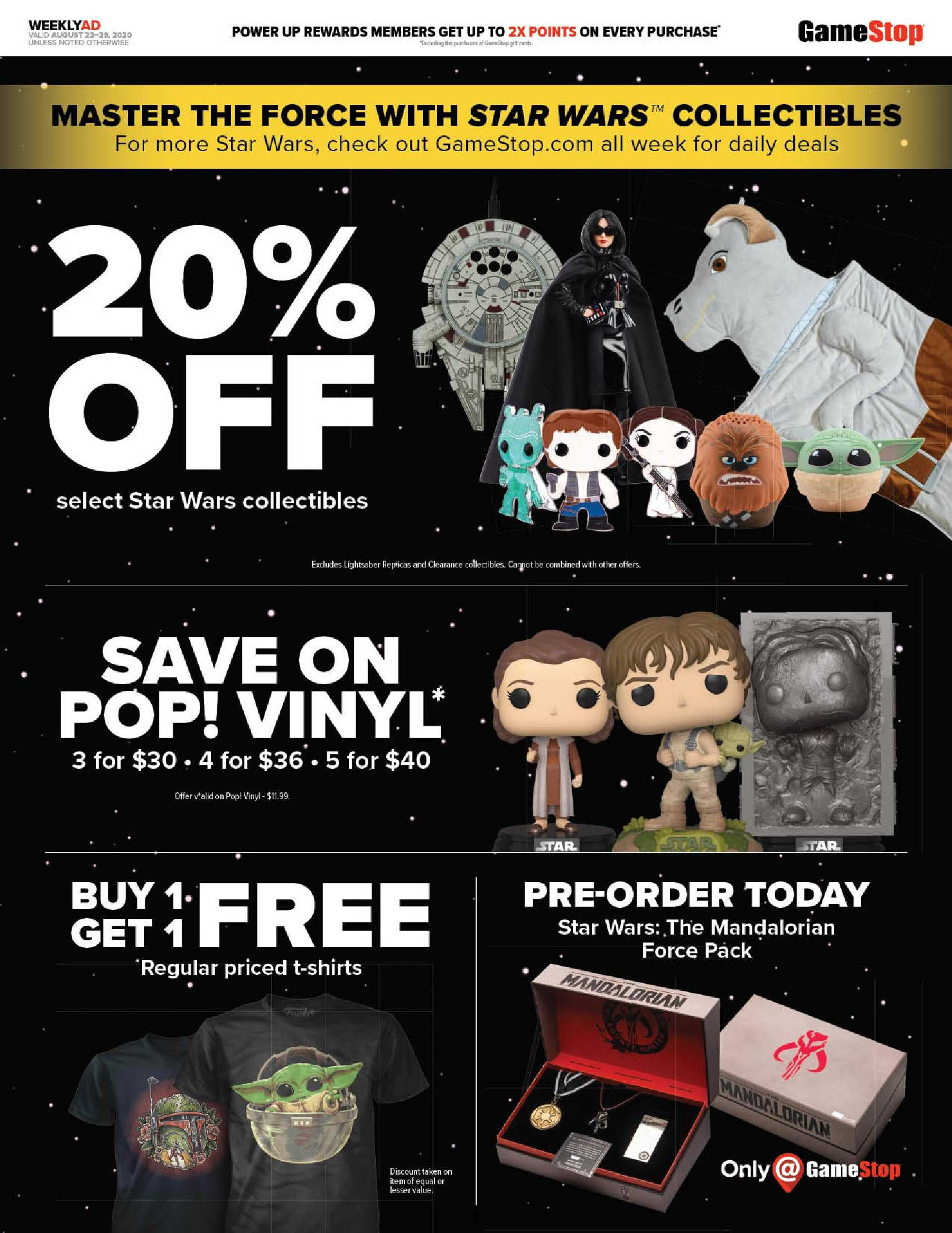 GameStop - deals are valid from 08/23/20 to 08/29/20 - page 3.