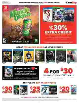 GameStop - deals are valid from 08/23/20 to 08/29/20 - page 6.
