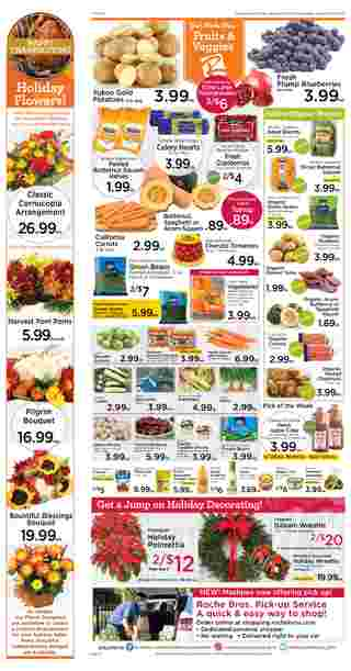 Roche Bros. - deals are valid from 11/20/20 to 11/26/20 - page 10.