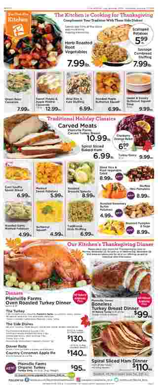 Roche Bros. - deals are valid from 11/20/20 to 11/26/20 - page 5.