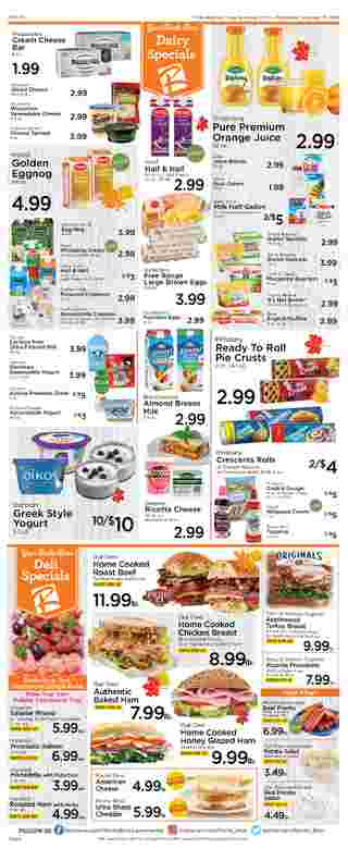 Roche Bros. - deals are valid from 11/20/20 to 11/26/20 - page 6.