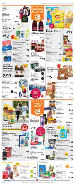 Roche Bros. - deals are valid from 11/20/20 to 11/26/20 - page 8.