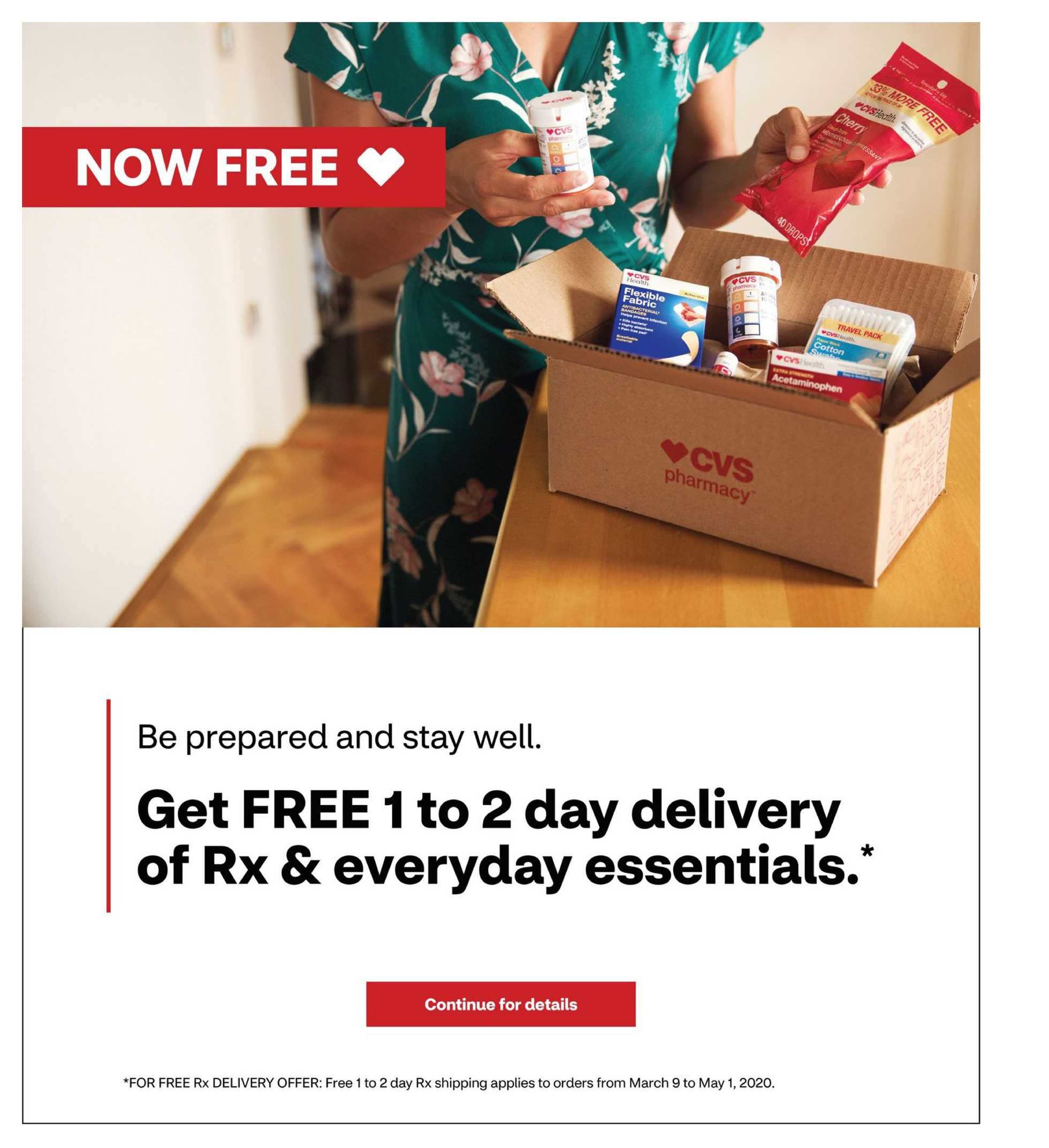 CVS - deals are valid from 03/22/20 to 03/28/20 - page 3.