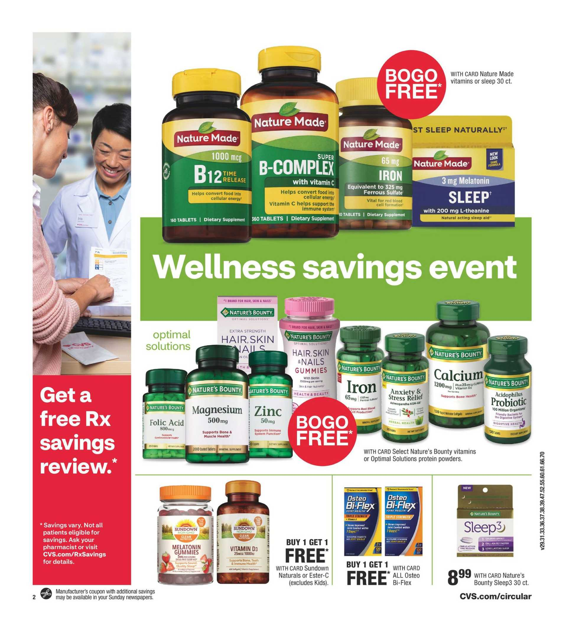 CVS - deals are valid from 01/12/20 to 01/18/20 - page 3.