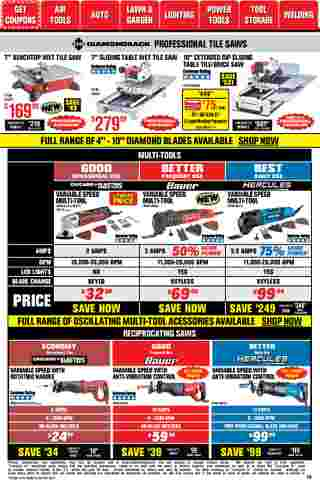 Harbor Freight Tools - deals are valid from 01/01/21 to 01/31/21 - page 10.
