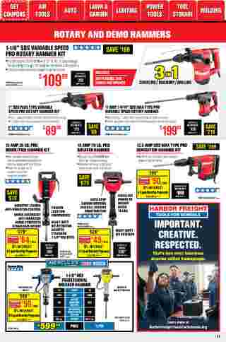 Harbor Freight Tools - deals are valid from 01/01/21 to 01/31/21 - page 11.