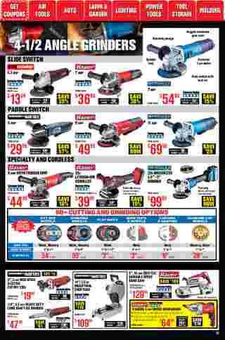 Harbor Freight Tools - deals are valid from 01/01/21 to 01/31/21 - page 12.