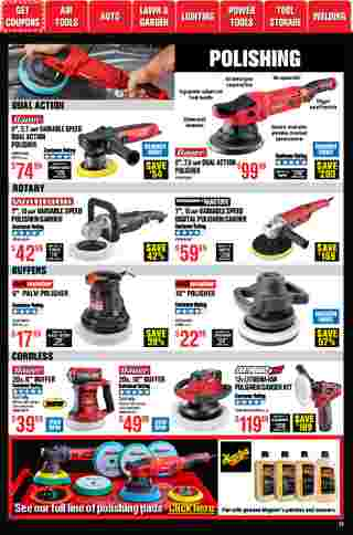 Harbor Freight Tools - deals are valid from 01/01/21 to 01/31/21 - page 13.