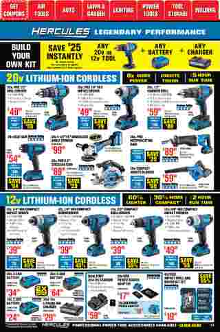 Harbor Freight Tools - deals are valid from 01/01/21 to 01/31/21 - page 14.