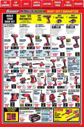 Harbor Freight Tools - deals are valid from 01/01/21 to 01/31/21 - page 15.