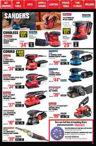 Harbor Freight Tools - deals are valid from 01/01/21 to 01/31/21 - page 17.