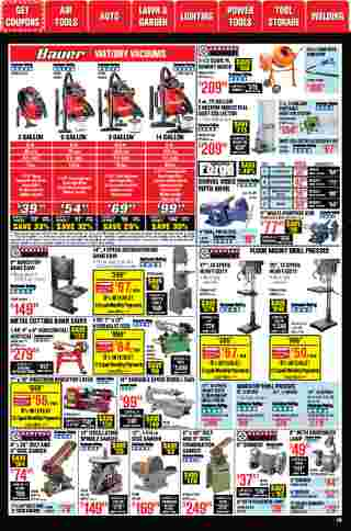 Harbor Freight Tools - deals are valid from 01/01/21 to 01/31/21 - page 18.
