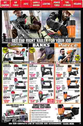Harbor Freight Tools - deals are valid from 01/01/21 to 01/31/21 - page 19.