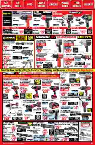 Harbor Freight Tools - deals are valid from 01/01/21 to 01/31/21 - page 20.
