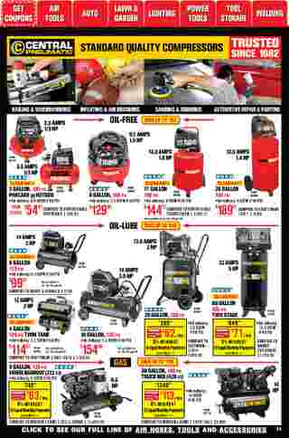 Harbor Freight Tools - deals are valid from 01/01/21 to 01/31/21 - page 23.
