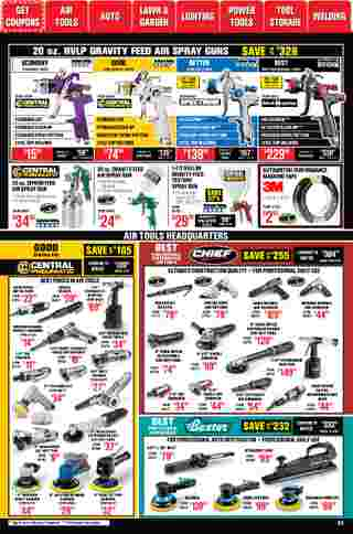 Harbor Freight Tools - deals are valid from 01/01/21 to 01/31/21 - page 24.