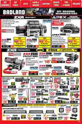 Harbor Freight Tools - deals are valid from 01/01/21 to 01/31/21 - page 25.