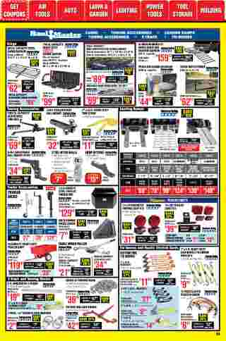 Harbor Freight Tools - deals are valid from 01/01/21 to 01/31/21 - page 26.