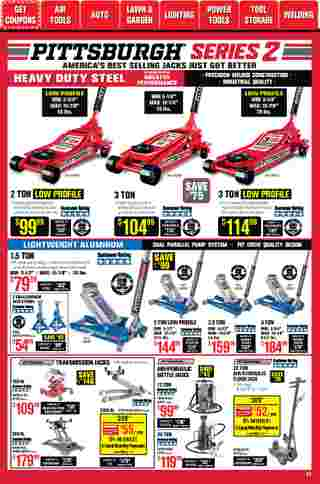 Harbor Freight Tools - deals are valid from 01/01/21 to 01/31/21 - page 27.