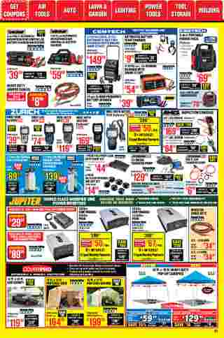 Harbor Freight Tools - deals are valid from 01/01/21 to 01/31/21 - page 31.