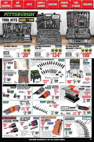 Harbor Freight Tools - deals are valid from 01/01/21 to 01/31/21 - page 32.