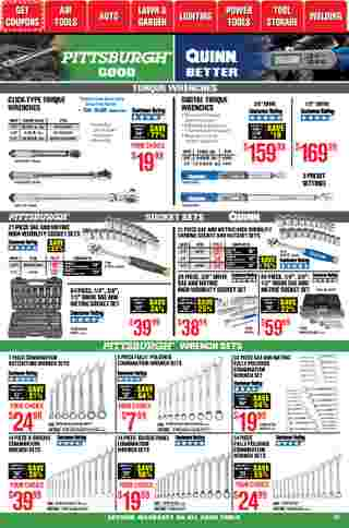Harbor Freight Tools - deals are valid from 01/01/21 to 01/31/21 - page 34.
