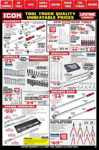 Harbor Freight Tools - deals are valid from 01/01/21 to 01/31/21 - page 35.