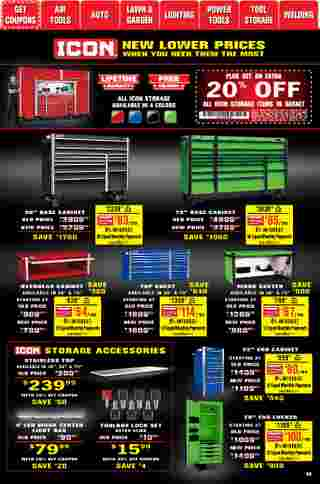 Harbor Freight Tools - deals are valid from 01/01/21 to 01/31/21 - page 36.