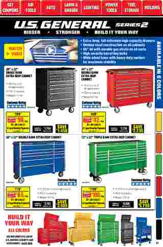 Harbor Freight Tools - deals are valid from 01/01/21 to 01/31/21 - page 37.