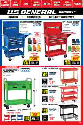 Harbor Freight Tools - deals are valid from 01/01/21 to 01/31/21 - page 38.